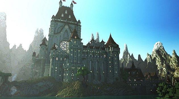 Исторический собор в Minecraft