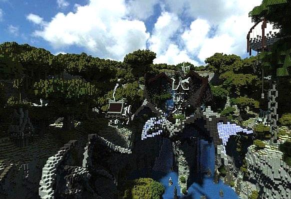 Скачать бесплатно карту для Minecraft 1.5.2