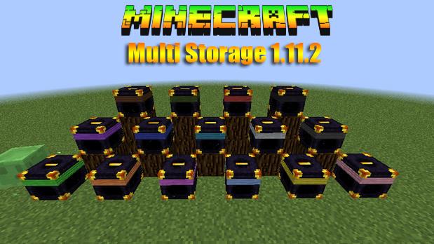 Мод MultiStorage для Minecraft 1.11.2