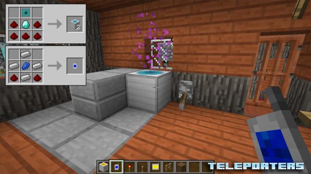 Скачать мод Teleporters для Minecraft 1.11.2