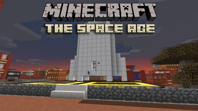 Скачать мод The Space Age для Minecraft 1.11.2