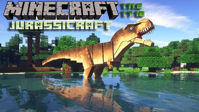 Мод Jurassicraft для Minecraft 1.11.2/1.7.10