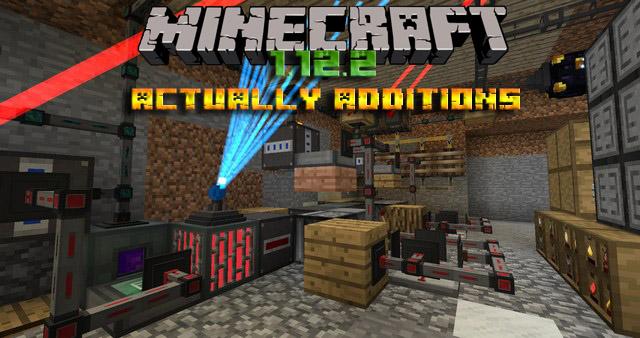 Мод Actually Additions для Minecraft 1.12.2