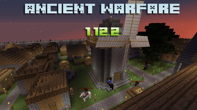 Скачать Ancient Warfare мод для Майнкрафт 1.12.2