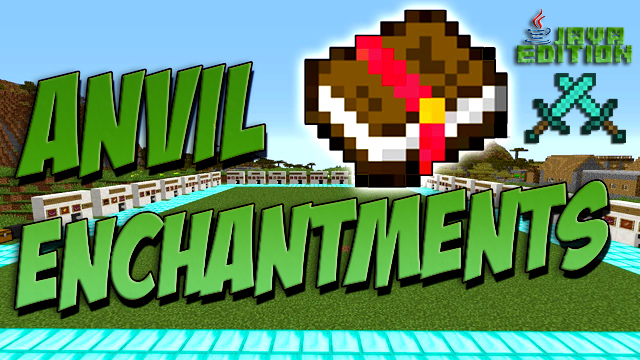 Мод Anvil Enchantments для Майнкрафт 1.12.2