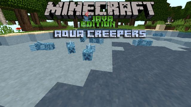 Мод Aqua Creepers на Майнкрафт 1.12.2