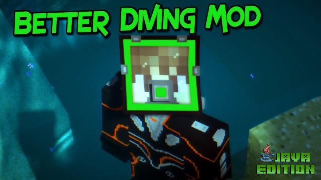 Мод на подводное снаряжение для Майнкрафт 1.12.2