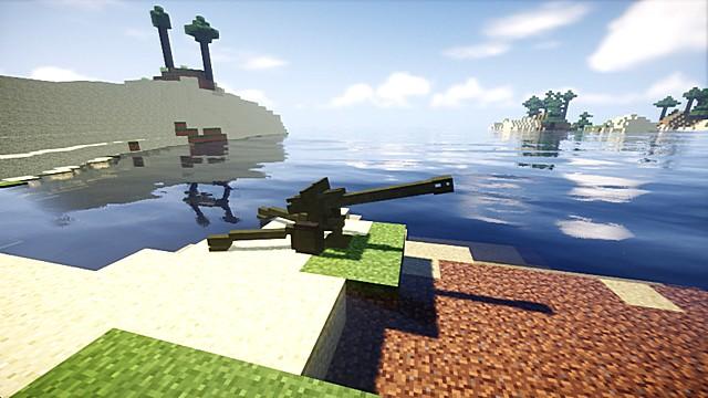 Мод на оружие для Майнкрафт 1.12.2 - Call of Duty