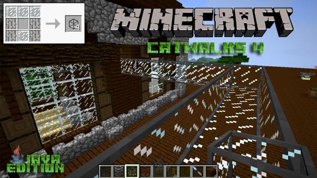 Скачать мод Catwalks 4 для Майнкрафт 1.12.2
