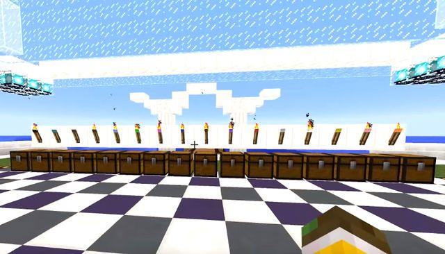 Скачать мод на цветные факелы для Майнкрафт 1.12.2