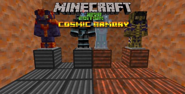 Мод Cosmic armory для Minecraft 1.12.2