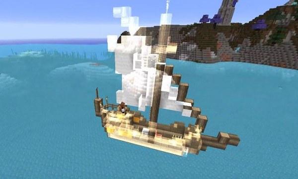 Скачать мод на корабли для Майнкрафт 1.12.2