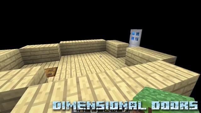 Мод Dimensional doors на Майнкрафт 1.12.2