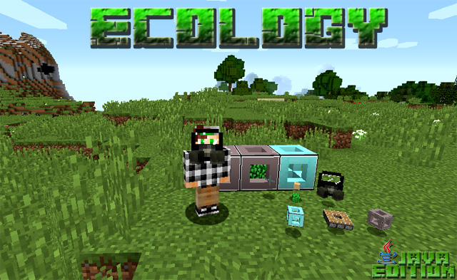 Скачать мод Ecology для Майнкрафт 1.12.2