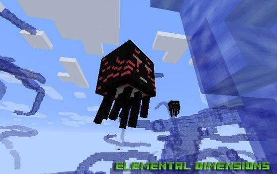 Скачать мод Elemental Dimensions для Minecraft 1.12.2/1.11.2