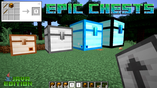 Мод Epic Chests для Minecraft 1.12.2