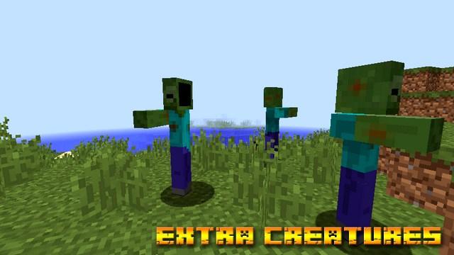Мод Extra Creatures на Майнкрафт 1.12.2