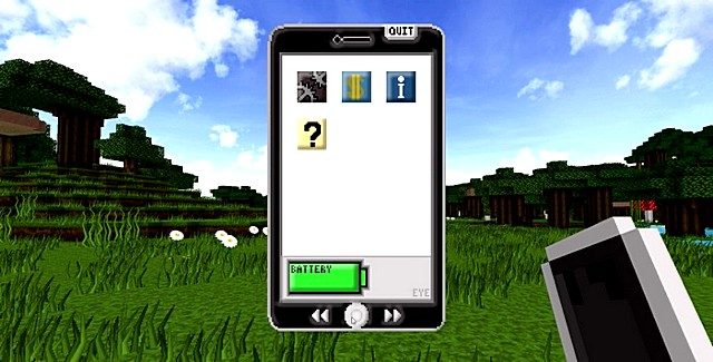 Мод телефон EyeMod для Майнкрафт 1.12.2 на ПК