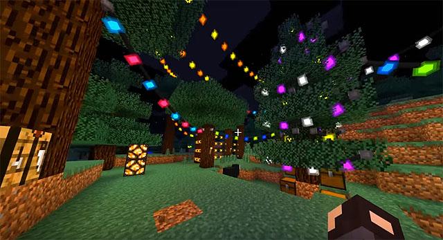 Скачать мод на Майнкрафт 1.12.2 для новогодних праздников