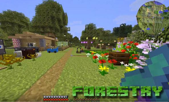 Мод Forestry на Майнкрафт 1.12.2