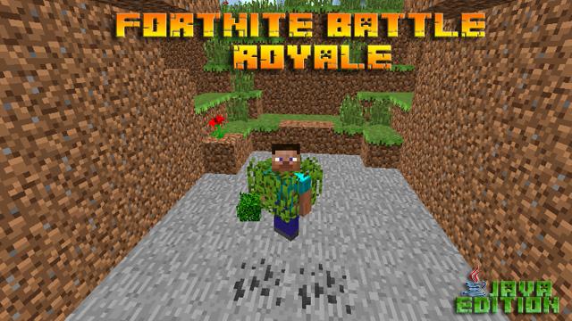 Скачать бесплатно мод Fortnite Battle Royale для Майнкрафт 1.12.2