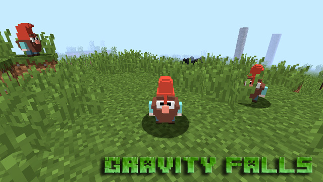Скачать мод Gravity Falls на Minecraft 1.12.2