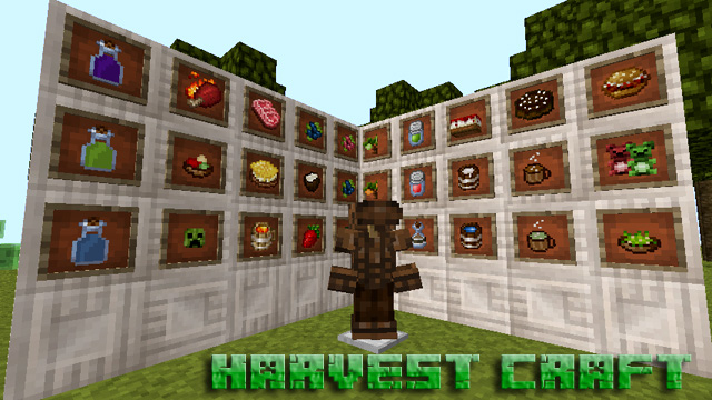 Мод Harvest Craft на Minecraft 1.12.2 Java Edition