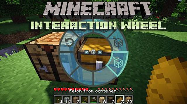 Скачать бесплатно мод Interaction Wheel для Minecraft 1.12.2/1.11.2