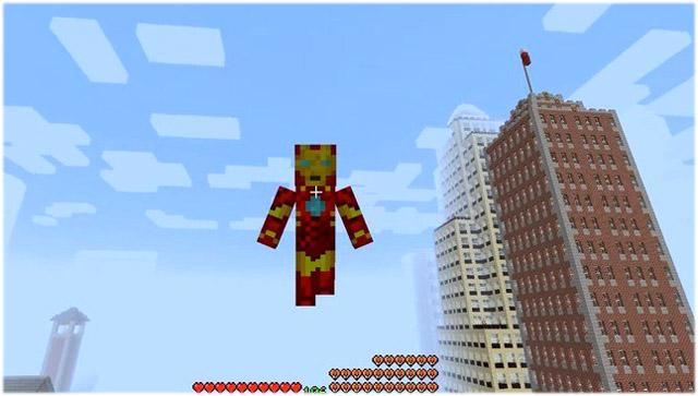 Мод IronMan на Майнкрафт 1.12.2