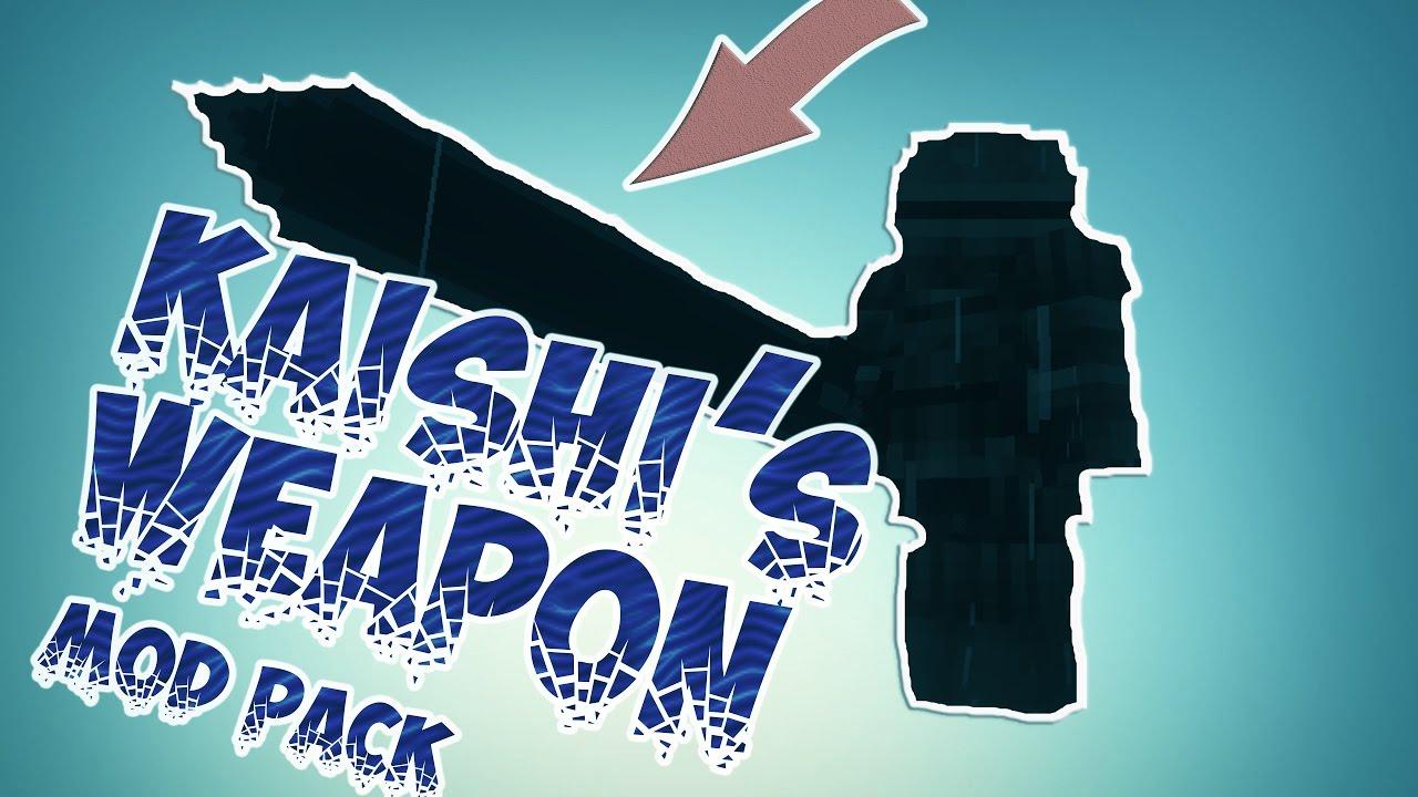 Мод Kaishis Weapons для Minecraft 1.12.2