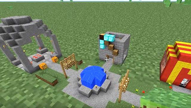 Скачать мод на мини блоки для Майнкрафт 1.12.2