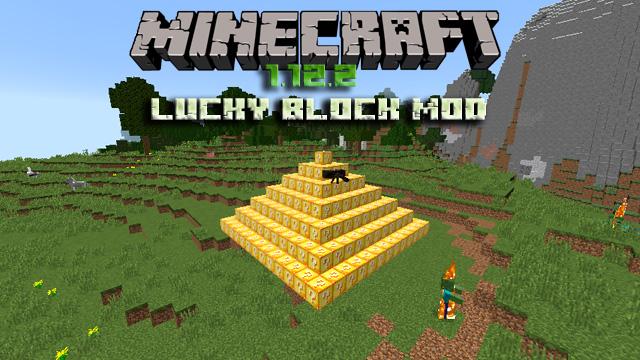 Мод Лаки блок на Майнкрафт 1.12.2 Скачать бесплатно