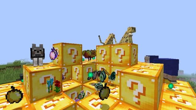 лаки блок без модав в майнкрафт 1.11.2 #5