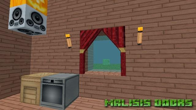 Мод Malisis Doors на Майнкрафт 1.12.2