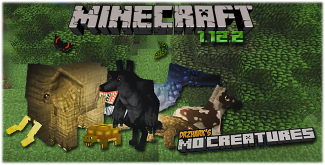 Мод Mo'Creatures / Новые мобы для Minecraft 1.12.2