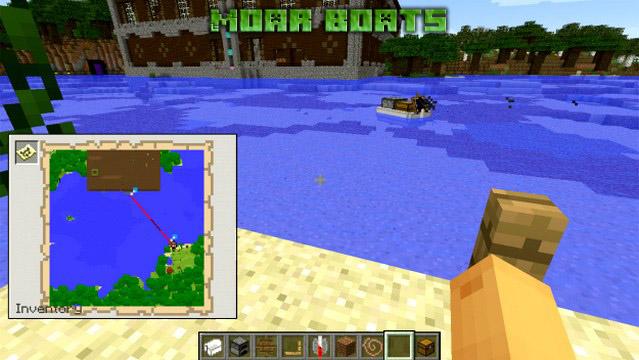 Скачать мод Moar Boats для Майнкрафт 1.12.2