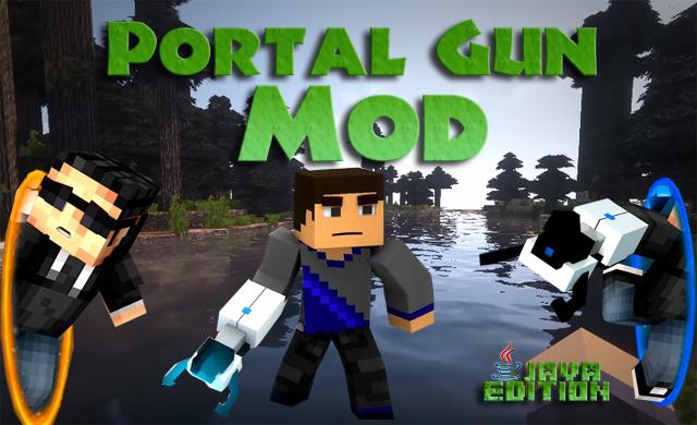 Скачать мод на оружие и порталы для Майнкрафт 1.12.2