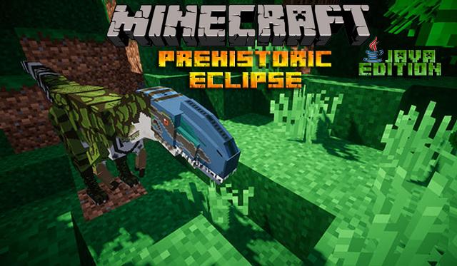 Мод Prehistoric Eclipse для Майнкрафт 1.12.2