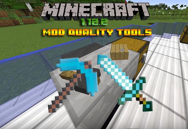 Мод Quality Tools для Minecraft 1.12.2 / Скачать бесплатно