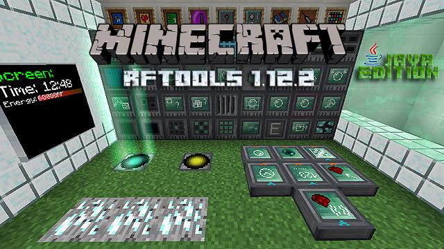 Мод RFTools для Майнкрафт 1.12.2