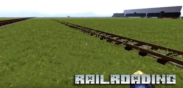 Скачать мод для Minecraft 1.12.2 / Railroading