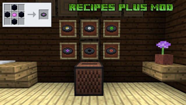 Скачать мод на рецепты для Майнкрафт 1.12.2
