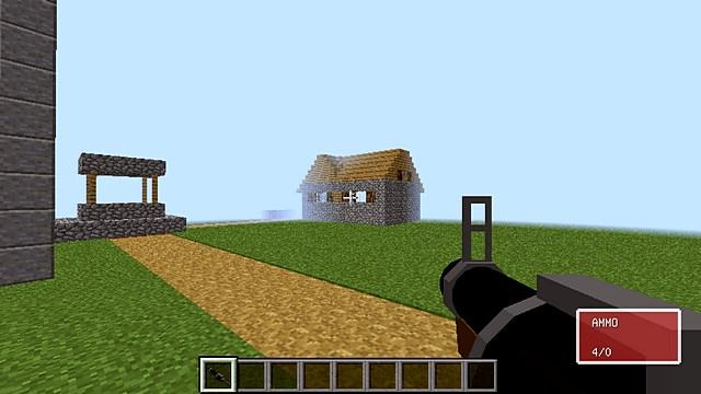 Мод Team Fortress 2 на оружие для Майнкрафт 1.12.2