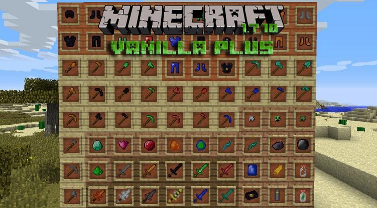 Мод Vanilla plus для Minecraft 1.12.2