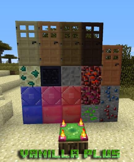 Мод Vanilla plus для Minecraft 1.7.10