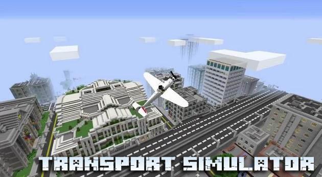 Мод симулятор транспорта для Minecraft 1.12.2