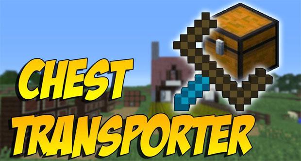 Скачать Chest Transporter мод для Minecraft 1.12/12.1