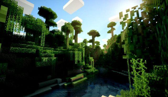 Мод на шейдеры GLSL для Minecraft 1.13.2