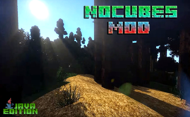 Скачать мод NoCubes для Майнкрафт 1.13.2