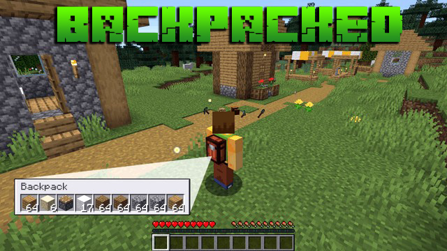 Мод на рюкзак для Minecraft 1.14.4 / Backpacked